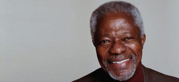 Morto Kofi Annan, ex segretario Onu e Nobel per la pace