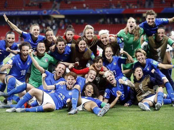 Le ragazze del Calcio fanno il botto su RaiUno: sei milioni e mezzo di spettatori