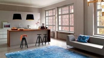 arredare casa moderna tappeti enormi
