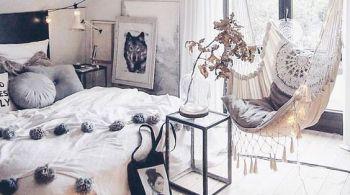 Arredamento camera da letto boho chic