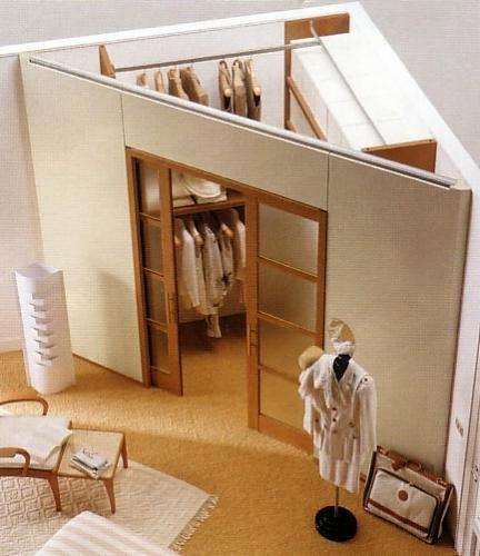 Progettare una cabina armadio ad angolo
