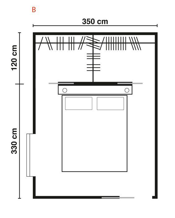 Cabina Armadio 2x2.Progettare Una Cabina Armadio Misure E Dimensioni Minime