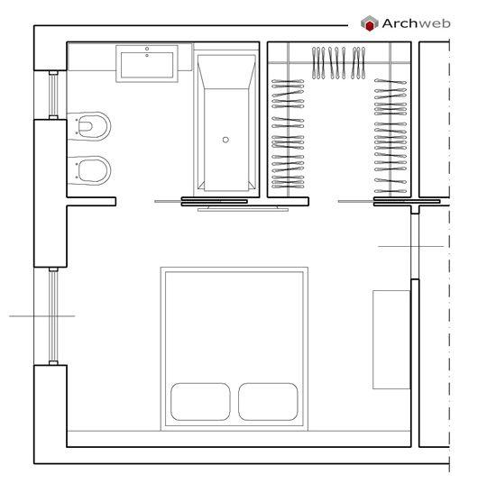 Misure Standard Armadio Camera Matrimoniale.Progettare Una Cabina Armadio Misure E Dimensioni Minime