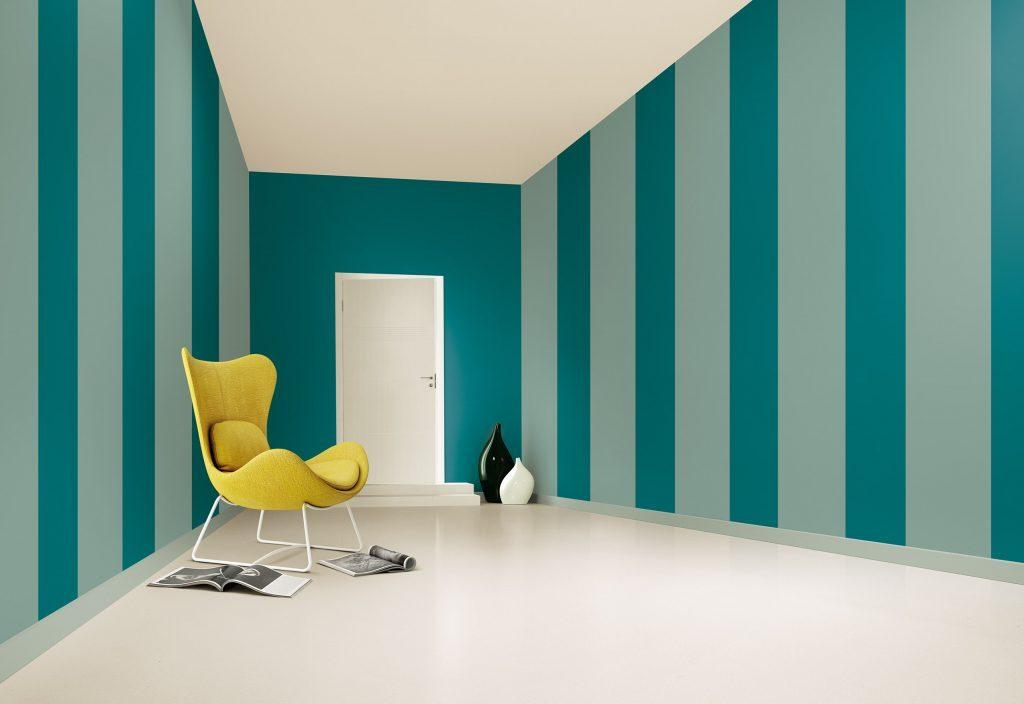 Pareti A Righe Verdi : Colori pitture per pareti idee moderne e i migliori effetti