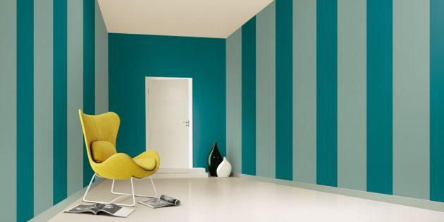 Colori pitture per pareti idee moderne e i 10 migliori for Pittura per interni moderne