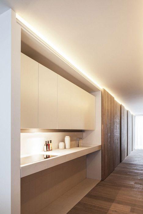 Come arredare una cucina moderna illuminazione