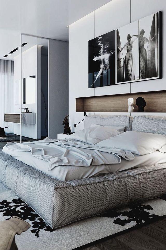 Come arredare una camera da letto modernacon nicchia