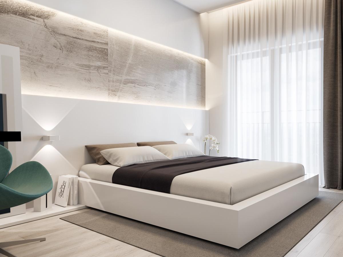 Camera Da Letto Bianca E Nera dipingere camera da letto: 5 coppie di colori che funzionano