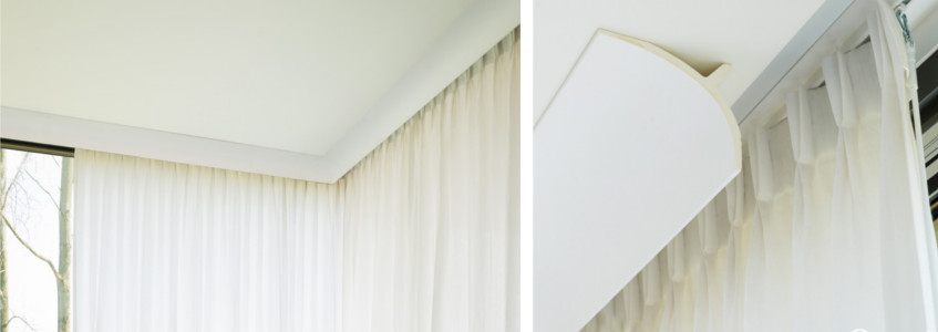 Bastoni per tende per interni moderne