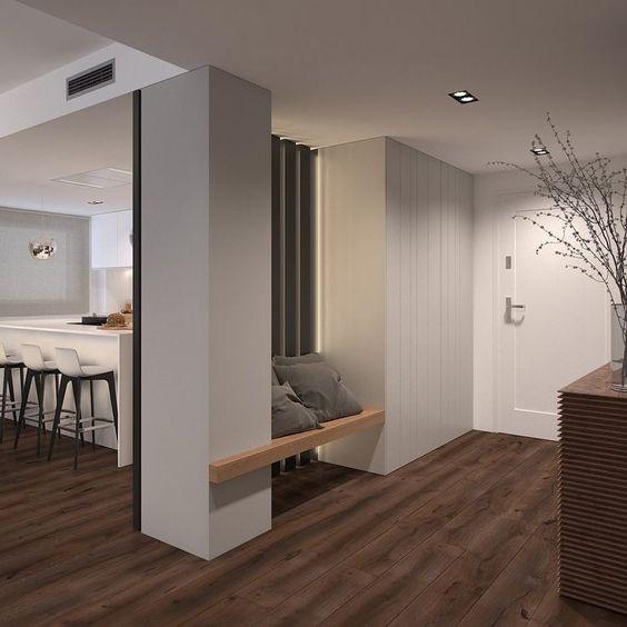 Oggi ingresso e soggiorno sono un ambiente unico. Ingresso Sul Soggiorno 5 Idee Per Gestire Cappotti E Porta Oggetti