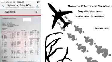 Monsanto Aluminium Glyphosat