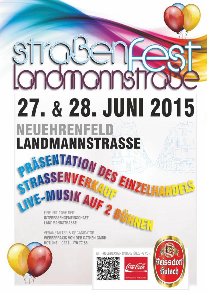 Straßenfest Landmannstraße 2015