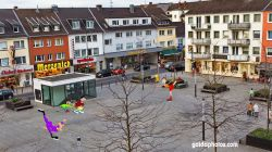 Rodenkirchen Winterzauber Schlittschuhbahn Maternusplatz