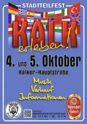 Plakat Stadtteilfest Kalk