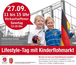 Lifestyle tag Kinderflohmarkt Antikmarkt Rodenkirchen 27.9.2015