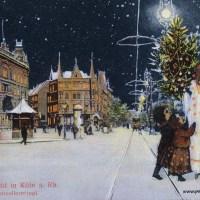 Weihnachtskarten aus Köln (1900)