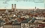 Historische PÜostkarte München 1902 Stadtansicht