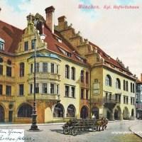 Postkarte aus München - Freizeitgestaltung