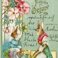 Historische Osterkarten