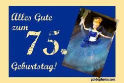Karte 70. Geburtstag Barbie