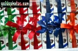 Motive für Geburtstagskarten, Geschenke, Schleifen