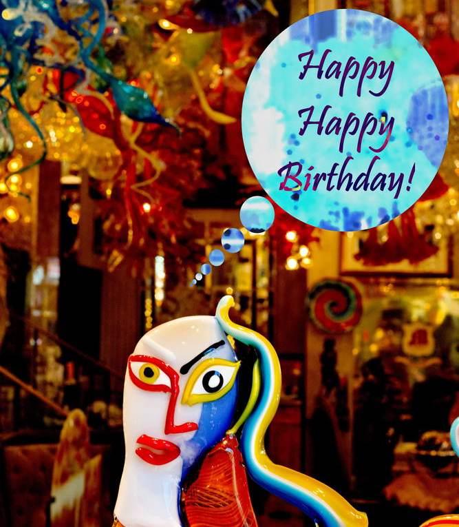 Happy Birthday Geburtstagskarte