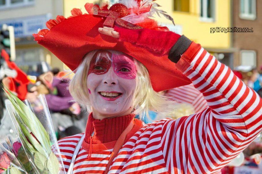 Karnveal in Köln Rodenkirchen 2014, Clown