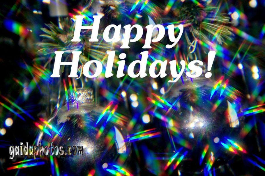 Weihnachtskarten-mit-Happy Holidays