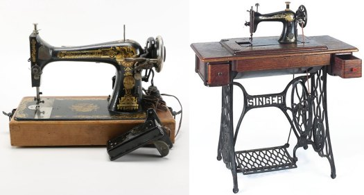 Antique Sewing Machines - 1908