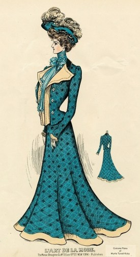 Woman's Walking Suit 1908
