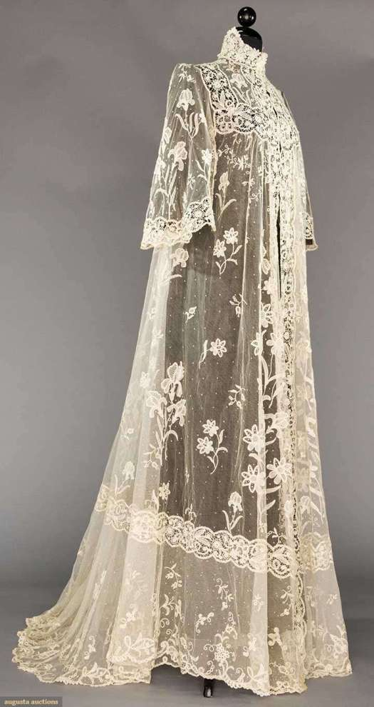 Edwardian morning gown