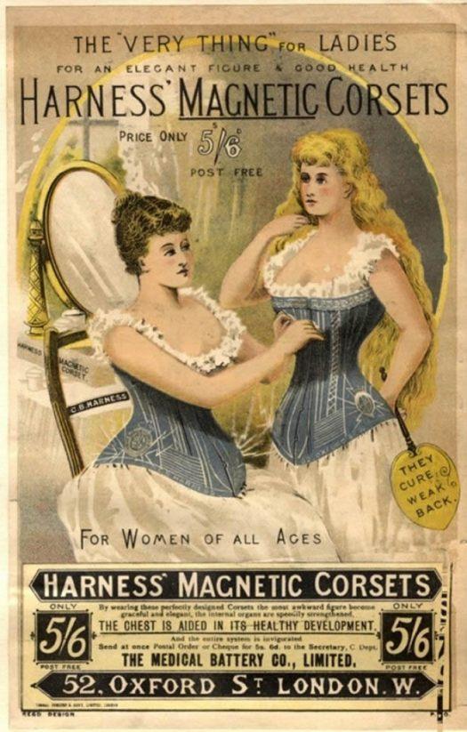 magnetic corset