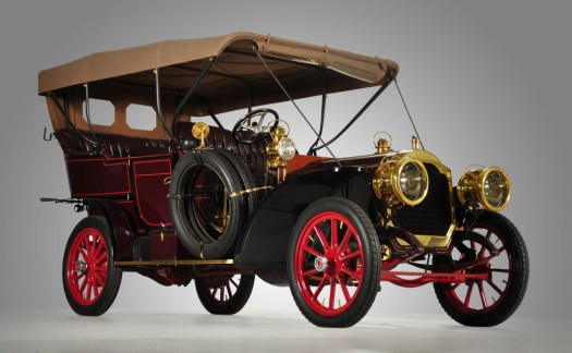 1907 Packard Model 30 'U' 7-passenger touring car