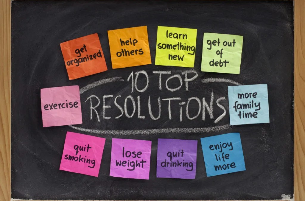 Retooling New Year's Resolutions to Set Yourself Up  For Success