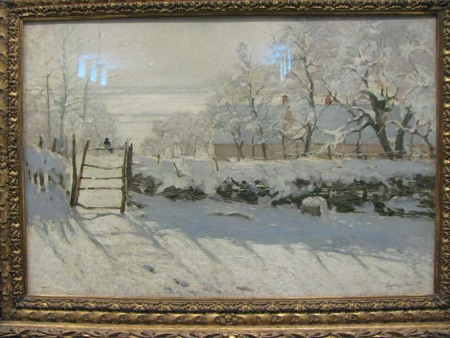 """The Magpie"" by Claude Monet – A Close Look At A Favourite Snowscape"