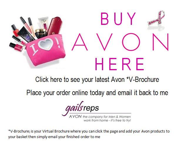 Buy Avon Banner Wwwgailsrepscouk