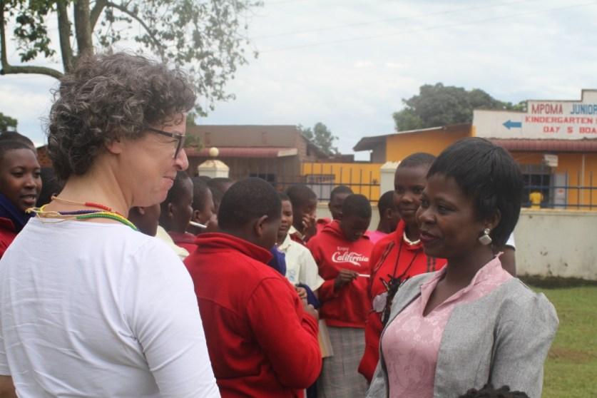 Dr Veronika Praxmarer Africa School Tour
