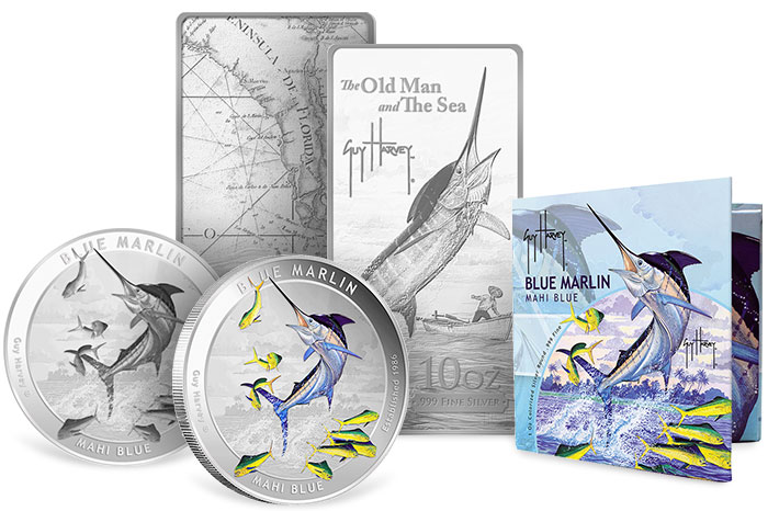 Guy Harvey Silver Bars and Rounds