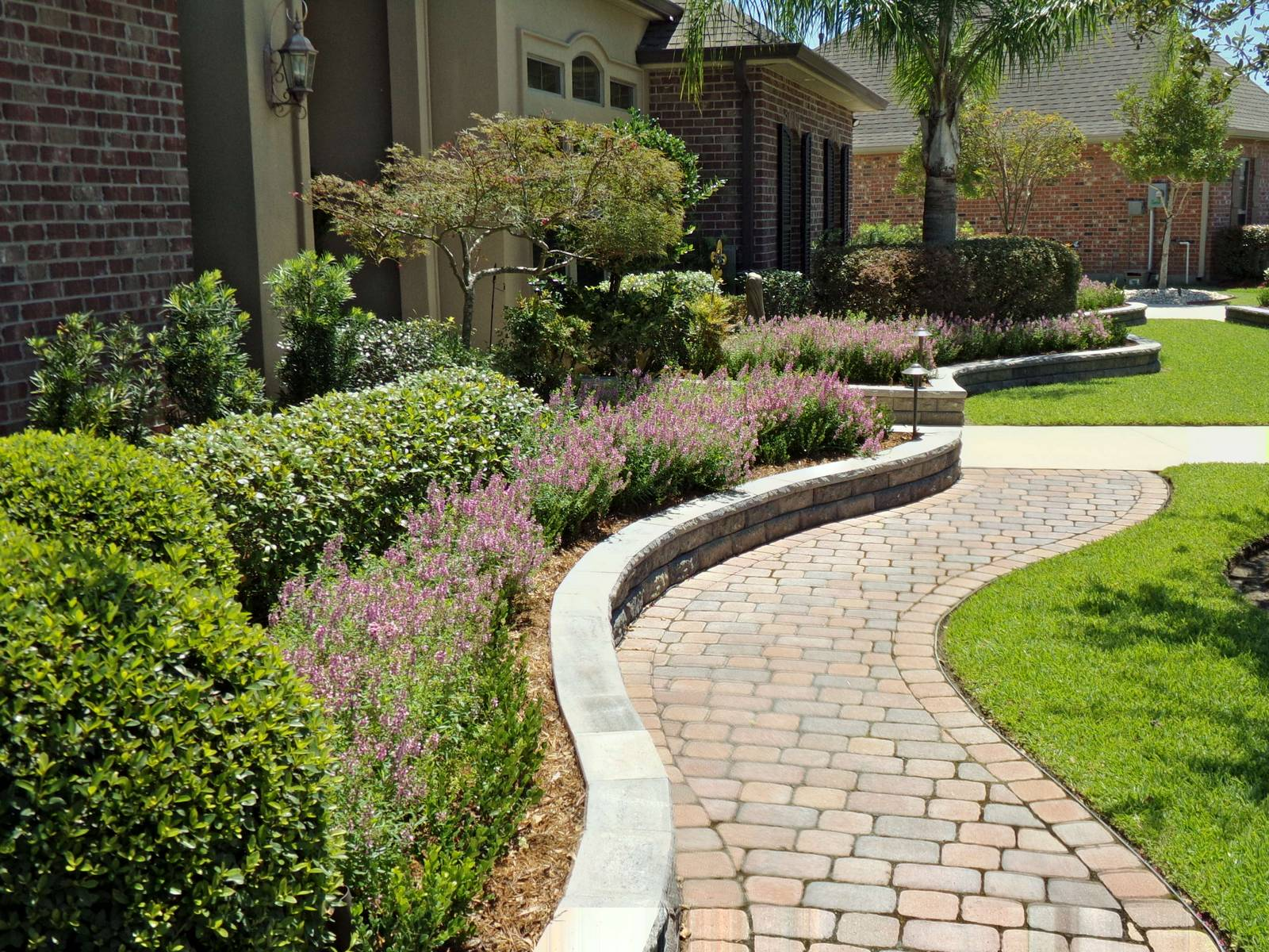 Hardscaping - Gainesville Lawn Care on Backyard Hardscape Design id=94589