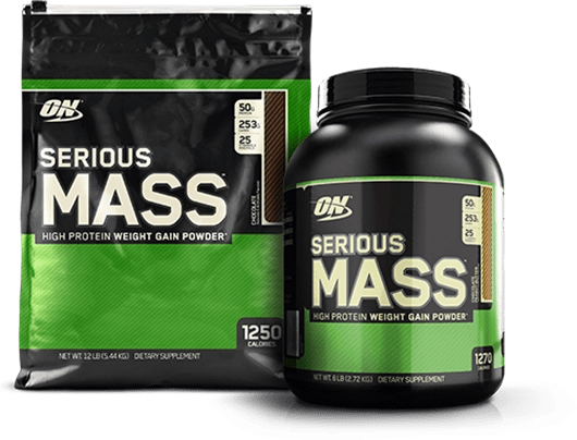serious mass gainer