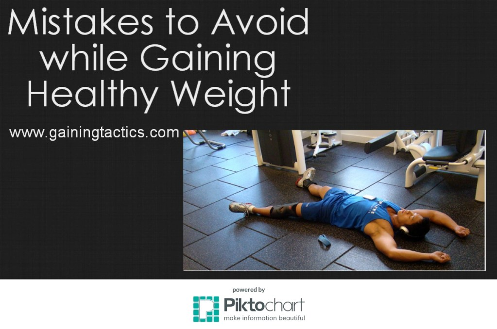 7 Mistakes to Avoid for Healthy Weight Gain