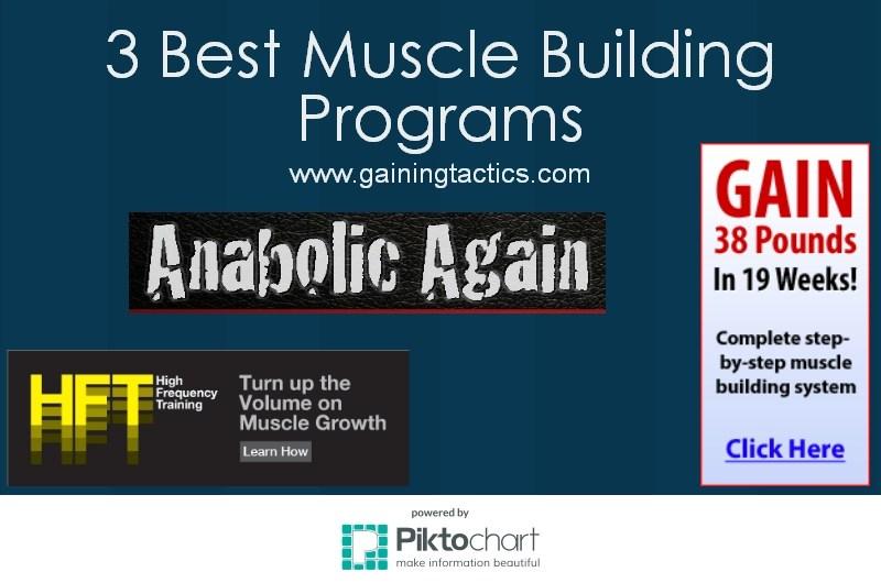 3 Best Muscle Building Program 2016