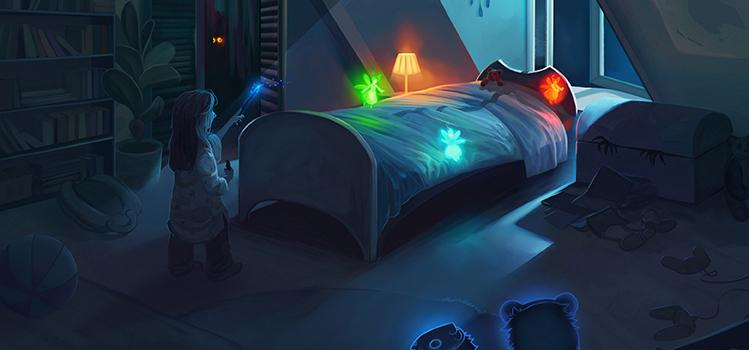 Monster under the Bed Banner