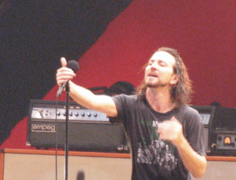 Isolated Vocal Tracks from Three Classic Pearl Jam Songs