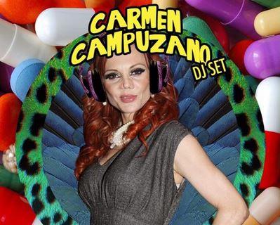 #Carmen is in da house y los hombres se van de fiesta