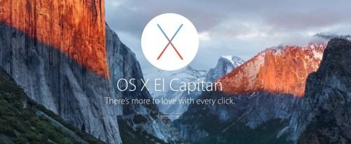 El Capitan, nuevo Sistema Operativo, llega en otoño