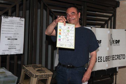 Fotos: Así anularon los mexicanos su voto