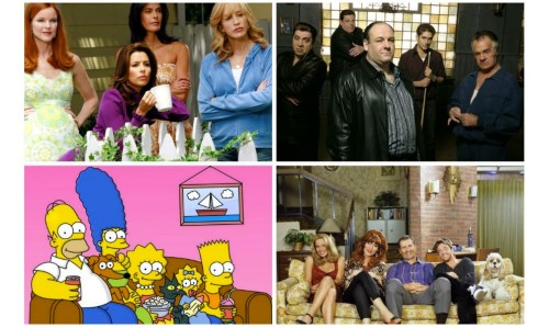 Las 100 series de televisión favoritas de todos los tiempos