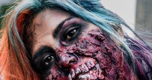 La marcha Zombie 2015 en el DF | Fotos