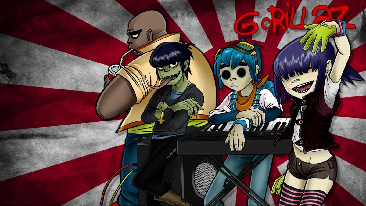 Gorillaz trabaja en estudio su quinto disco